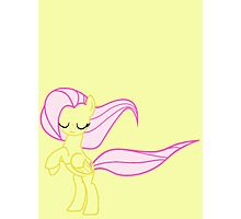 Windswept Fluttershy Photographic Print