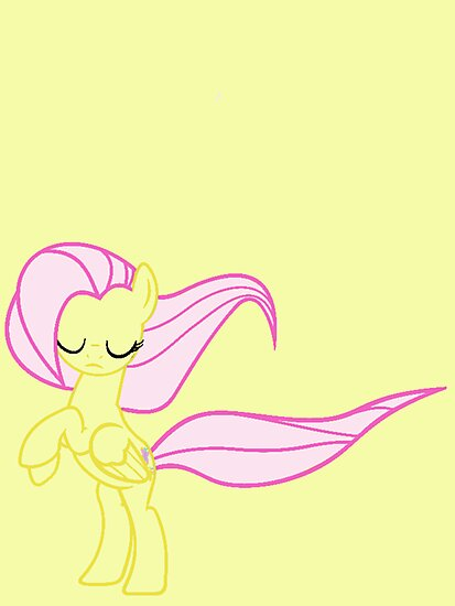 Windswept Fluttershy by minix