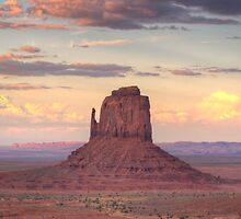 Monument Valley - East Mitten Butte  by Saija  Lehtonen