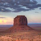 Monument Valley - Merrick Butte  by Saija  Lehtonen