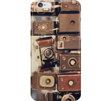 Old Cameras (Vintage and Retro Film Cameras Collection) iPhone Case/Skin