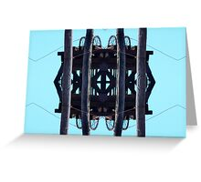 Tethered Air Pulley Greeting Card