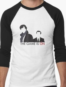 The Game is On Men's Baseball ¾ T-Shirt