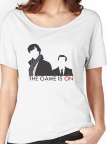 The Game is On Women's Relaxed Fit T-Shirt