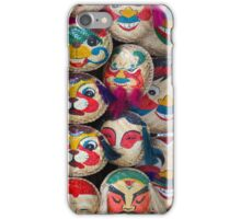 Hand made faces iPhone Case/Skin