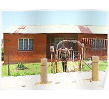 House in Soweto, South Africa Poster