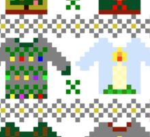The Ugly 'Ugly Christmas Sweaters' Sweater Design Sticker