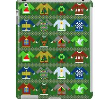 The Ugly 'Ugly Christmas Sweaters' Sweater Design iPad Case/Skin
