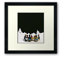 The Study Group's Winter Wonderland - Style B Framed Print