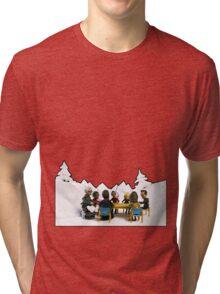The Study Group's Winter Wonderland - Style B Tri-blend T-Shirt