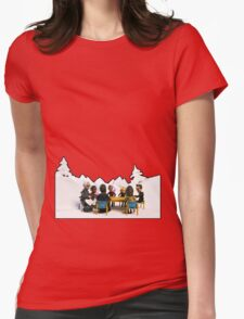 The Study Group's Winter Wonderland - Style B Womens Fitted T-Shirt