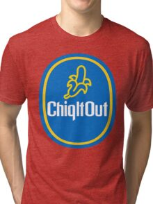 ChiqItOut (Banana Parody) Tri-blend T-Shirt