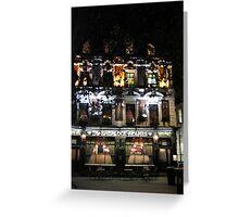 Sherlock Holmes Pub, London Greeting Card