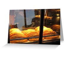Welsh Pasties, Covent Garden, London Greeting Card