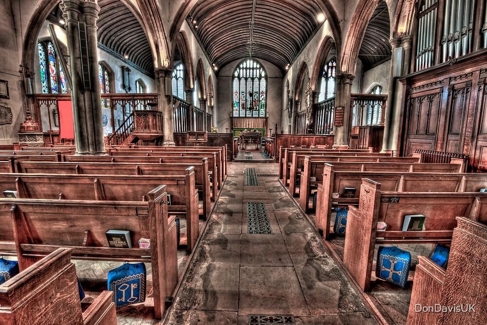 Ancient Lingfield Church by DonDavisUK