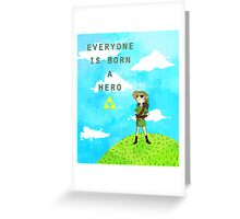 Hero Greeting Card