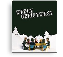 The Study Group's Winter Wonderland - Merry Christmas Canvas Print