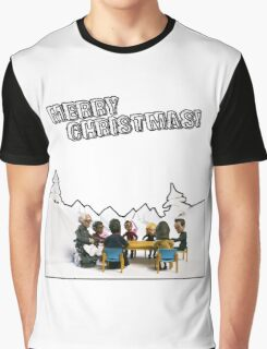 The Study Group's Winter Wonderland - Merry Christmas Graphic T-Shirt