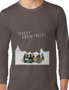 The Study Group's Winter Wonderland - Merry Christmas Long Sleeve T-Shirt