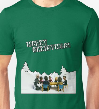 The Study Group's Winter Wonderland - Merry Christmas Unisex T-Shirt