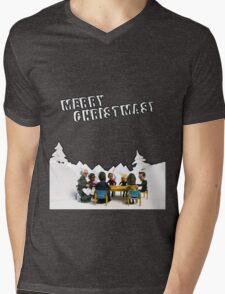 The Study Group's Winter Wonderland - Merry Christmas Mens V-Neck T-Shirt