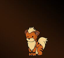 Growlithe by RubyTruffles