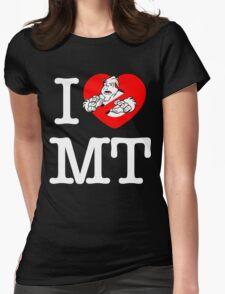 I PNW:GB MT (black) Womens Fitted T-Shirt