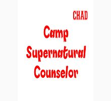 Supernatural Camp Counselor Chad Unisex T-Shirt