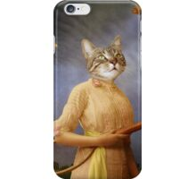 The woman in love iPhone Case/Skin