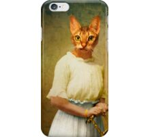 The teenager iPhone Case/Skin