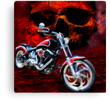 Heaven & Hell Canvas Print