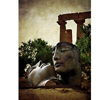 'Hermanos' in the Valley of the Temples Photographic Print