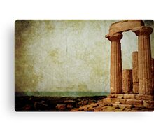 Temple of Juno in the Valley of the Temples Canvas Print