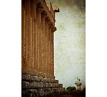 Temple of Concordia and Dedalo, Agrigento Photographic Print