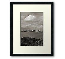 Saint-Malo from Dinard. Framed Print