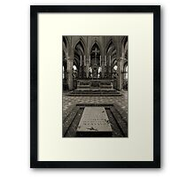 Tomb of William the Conqueror Framed Print