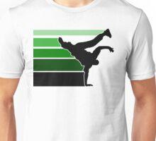 BBOY lines grn/blk Unisex T-Shirt