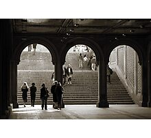 Under Bethesda Terrace Photographic Print