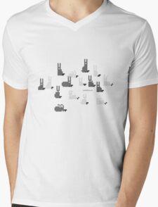 Stado Mens V-Neck T-Shirt