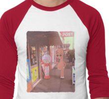 Moose Down The Street Men's Baseball ¾ T-Shirt