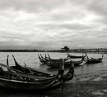 Taungthaman Lake by RicardMN
