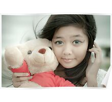 Sweet Teddy Bear. Poster