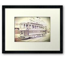 old tram Framed Print