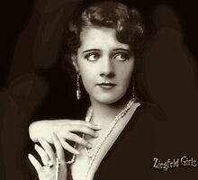 Ziegfeld Girls ... Ruby Keeler 1929 by © Kira Bodensted