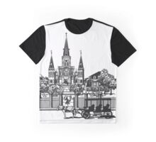 New Orleans, Louisiana Graphic T-Shirt
