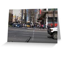 Cnr. King William Rd. & North Terrace, Adelaide CBD S.A. Greeting Card