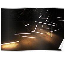 Light Installation, Biennale di Venezia Poster