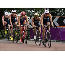 London 2012 Triathlon, Hyde Park - Brownlee Boys Day Out!!! Photographic Print