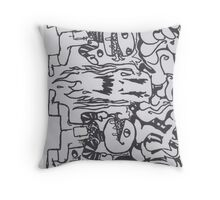 Percentum Designs Fashion Extreme Sports company Throw Pillow