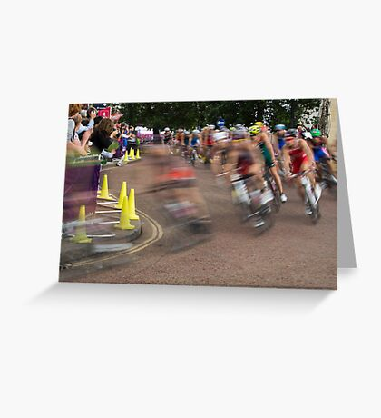 Speed!!! Greeting Card
